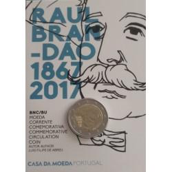 Portugal - 2 Euro - 2017 - Raul Brandão - Bnc