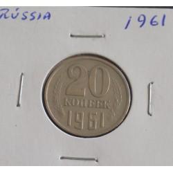 Rússia - 20 Kopeks - 1961