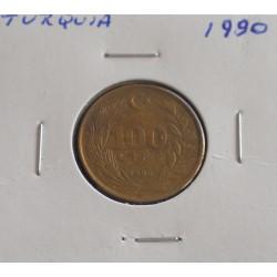 Turquia - 100 Lira - 1990