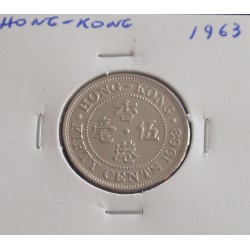 Hong - Kong - 50 Cents - 1963