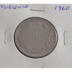 Turquia - 1 Lira - 1960