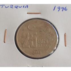 Turquia - 25 Bin Lira - 1996