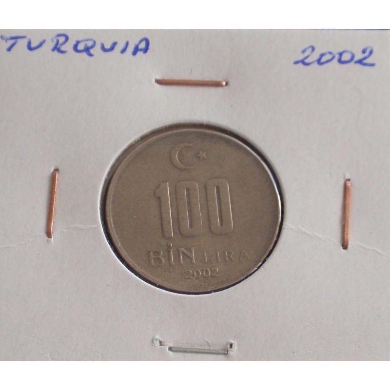Turquia - 100 Bin Lira - 2002