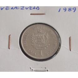 Venezuela - 1 Bolivar - 1989