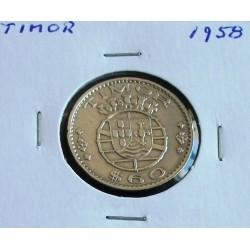 Timor - 60 Centavos - 1958
