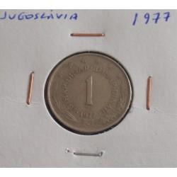 Jugoslávia - 1 Dinar - 1977