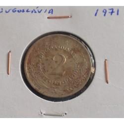 Jugoslávia - 2 Dinara - 1971