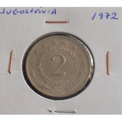 Jugoslávia - 2 Dinara - 1972