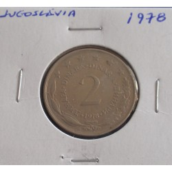 Jugoslávia - 2 Dinara - 1978