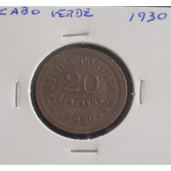Cabo Verde - 20 Centavos - 1930