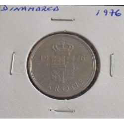 Dinamarca - 1 Krone - 1976