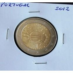 Portugal - 2 Euro - 2012 - 10 Anos da Circulação do Euro