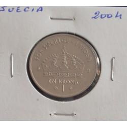 Suécia - 1 Krona - 2004