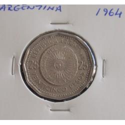 Argentina - 25  Pesos - 1964