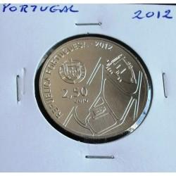 Portugal - 2,50 Euro - 2012 - Centro Histórico de Guimarães