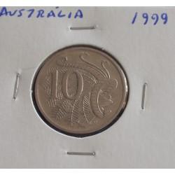 Austrália - 10 Cents - 1999