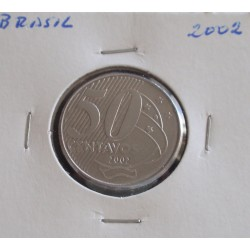Brasil - 50 Centavos - 2002
