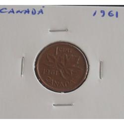 Canadá - 1 Cent - 1961