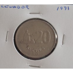 Ecuador - 20 Sucres - 1991