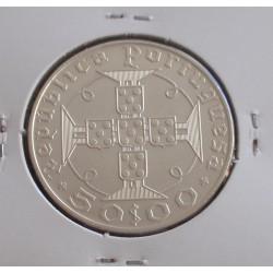 S. Tomé - 50 Escudos - 1970 - Prata