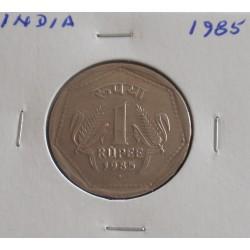 India - 1 Rupee - 1985