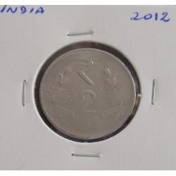 India - 2 Rupees - 2012