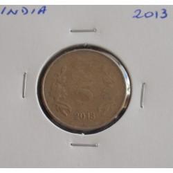 India - 5 Rupees - 2013