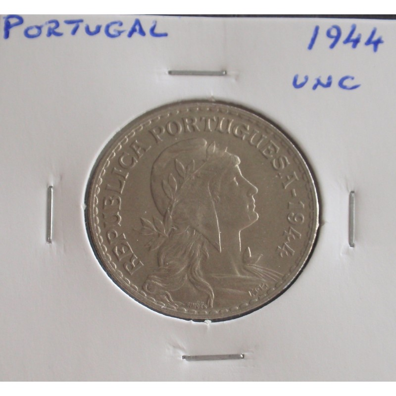Portugal - 1 Escudo - 1944 - Unc