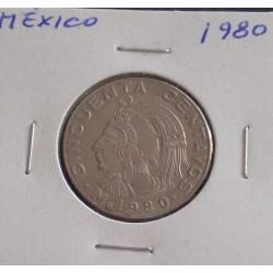 México - 50 Centavos - 1980