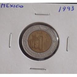 México - 1 Peso - 1993