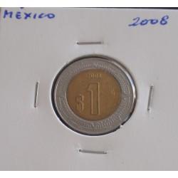 México - 1 Peso - 2008
