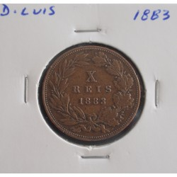 D. Luis - X Réis - 1883