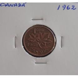 Canadá - 1 Cent - 1962
