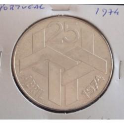 Portugal - 250 Escudos - N/D ( 25 de Abril ) - Prata