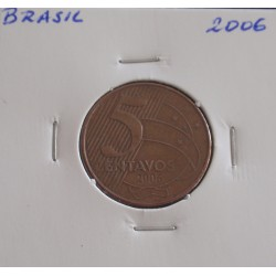 Brasil - 5 Centavos - 2006