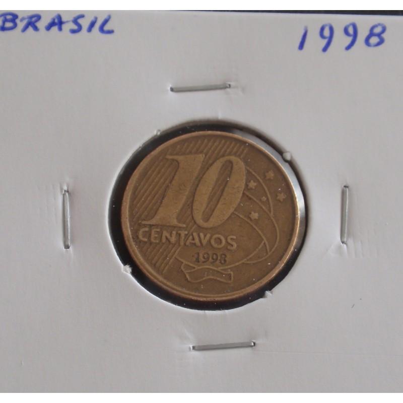 Brasil - 10 Centavos - 1998