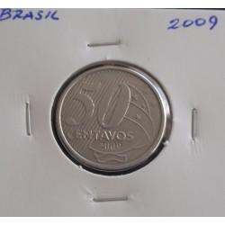 Brasil - 50 Centavos - 2009