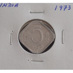 India - 5 Paise - 1973