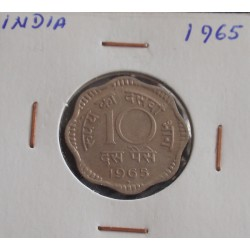 India - 10 Paise - 1965