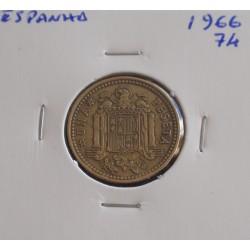 Espanha - 1 Peseta - 1966-74