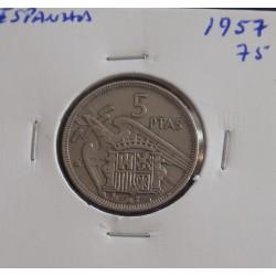 Espanha - 5 Pesetas - 1957-75