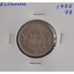 Espanha - 5 Pesetas - 1975-77