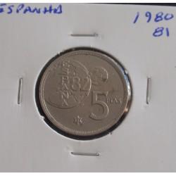 Espanha - 5 Pesetas - 1980-81