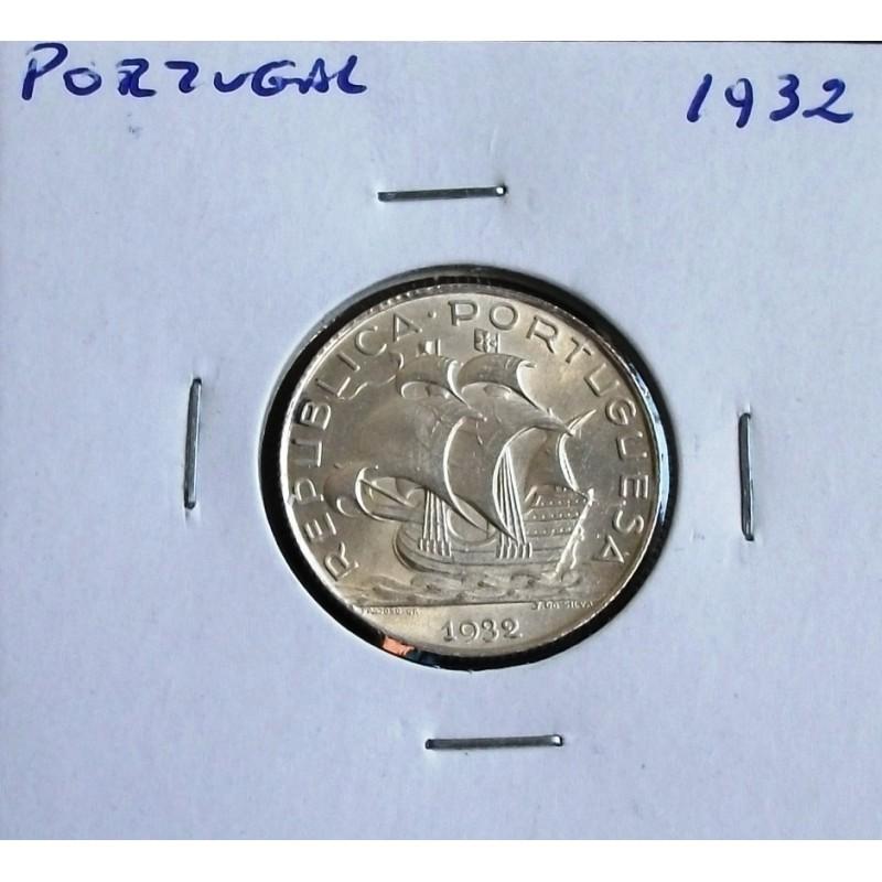 Portugal - 2,50 Escudos - 1932 - Prata