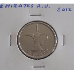 Emirados A. U. - 1 Dirham - 2012