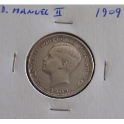 D. Manuel II - 200 Réis - 1909 - Prata