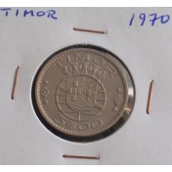 Timor - 5 Escudos - 1970