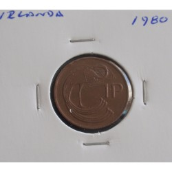 Irlanda - 1 Penny - 1980