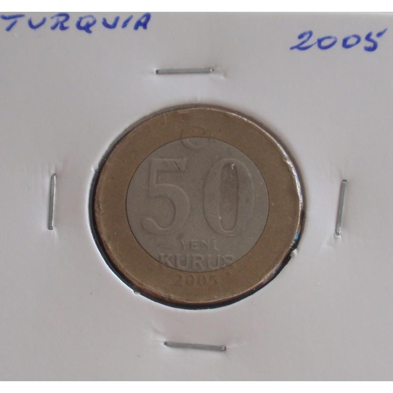 Turquia - 50 Kurus - 2005