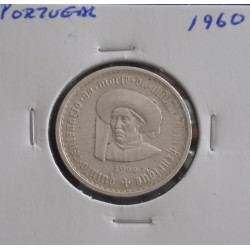 Portugal - 5 Escudos - 1960 - Infante D. Henrique - Prata